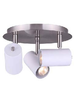 Salon Luminaire directionnel blanc
